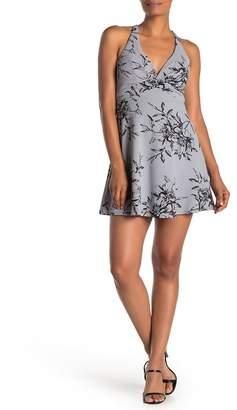Love, Nickie Lew Floral Print A-Line Dress
