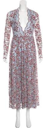 Ganni Lace Maxi Dress