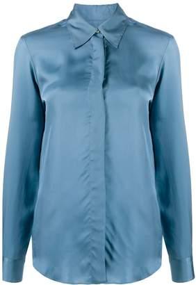 Alberto Biani plain fitted shirt
