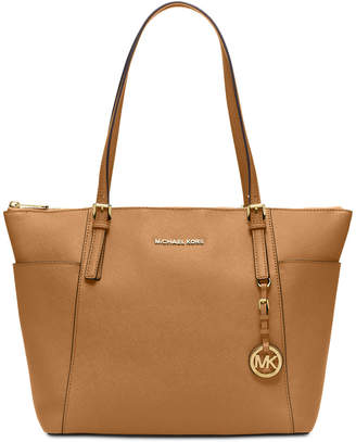 Michael Kors Jet Set Item Extra-Large East West Top Zip Tote