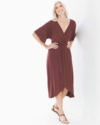 Soft Jersey Caftan Midi Dress Ginger Root