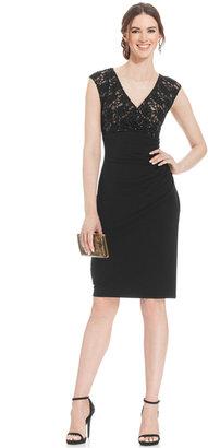 Connected Sequin-Lace Sheath Dress $79 thestylecure.com