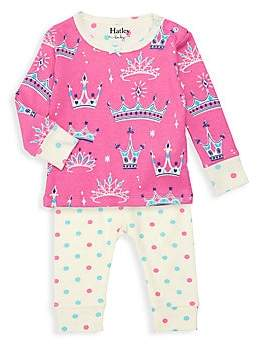 Hatley Baby Girl's Pretty Princess Two-Piece Pajama Set