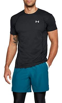 Under Armour Swyft Short Sleeve Running Top, Black/Reflective Silver