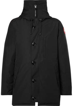 Canada Goose Chateau Shell Hooded Down Parka - Black