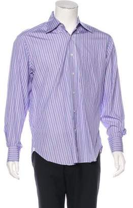 Loro Piana Striped Button-Up Shirt