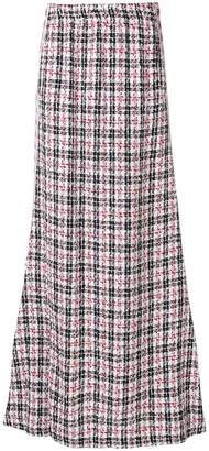 Faith Connexion Kappa tweed maxi skirt