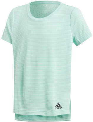 adidas Girls Climachill Training Tee