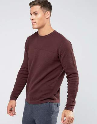 Troy Mixed Yarn Textured Knitted Sweater