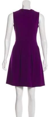 Roland Mouret Virgin Wool A-Line Dress