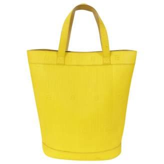 Fendi Yellow Leather Handbag
