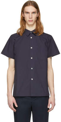 A.P.C. Navy Cotton Shirt