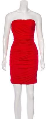 Dolce & Gabbana Mini Ruched Dress