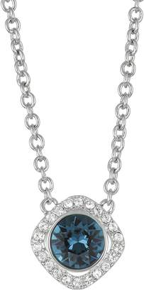 Brilliance+ Brilliance Crystal Halo Pendant Necklace with Sawarovski Crystals