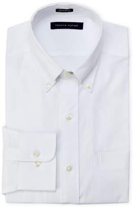 Tommy Hilfiger White Regular Fit Dress Shirt