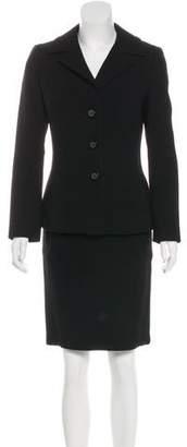 Dolce & Gabbana Knee-Length Wool Skirt Suit