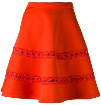 Carven flared scuba skirt