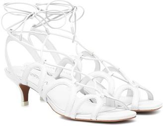 Zimmermann Scallop leather sandals