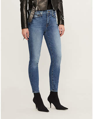 Good American Good Legs slim-fit high-rise jeans