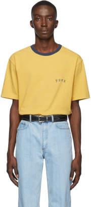Wacko Maria Yellow Type 2-Ringer T-Shirt