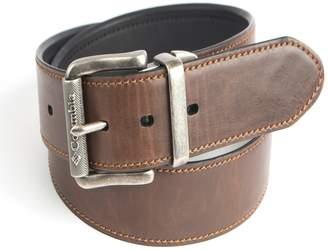Columbia Men's Roller Logo Buckle Reversible Belt