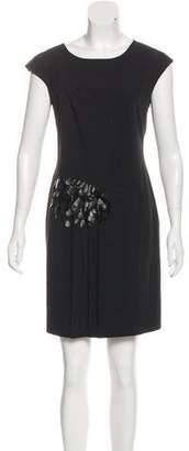 Philosophy di Alberta Ferretti Embellished Sleeveless Dress