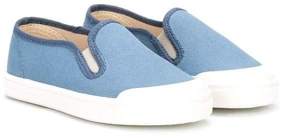 plain slip-on sneakres