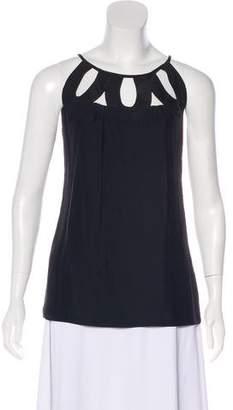 Loeffler Randall Sleeveless Silk Top
