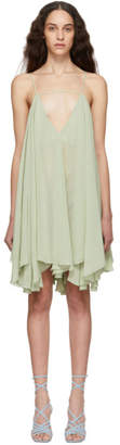Jacquemus Green La Petite Robe Belleza Dress