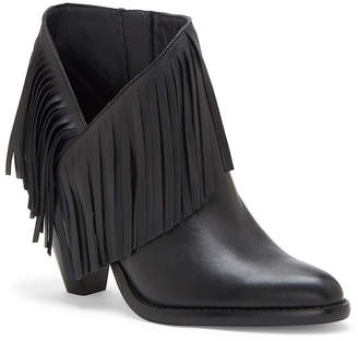 Jessica Simpson Jewles Fringe Booties Women Shoes