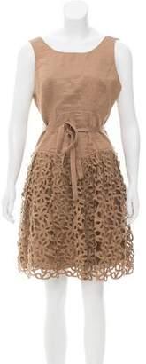 Robert Rodriguez Linen Mini Dress