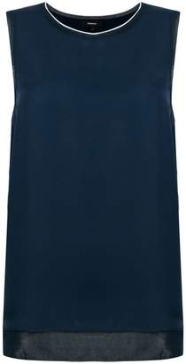 Theory sleeveless blouse