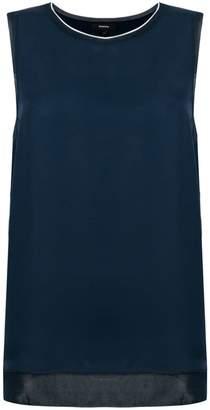Theory sleeveless blouse