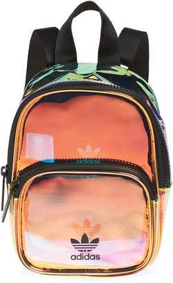 751454a78a68 adidas Ori Mini Holographic Clear Backpack