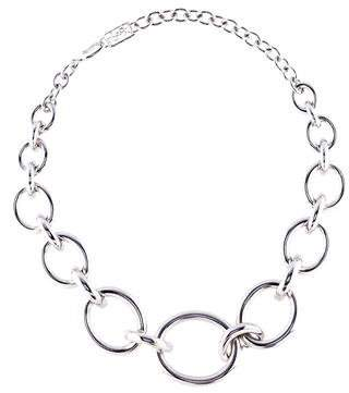Saint Laurent Oval Collar Necklace