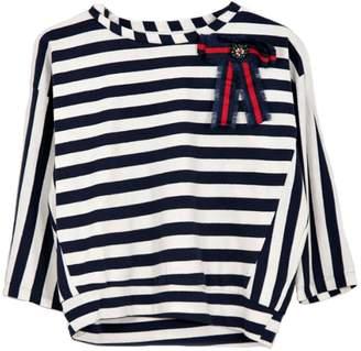 Dixie Nautical Stripes Top