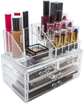 Sorbus Acrylic Cosmetic & Makeup Storage Case Display