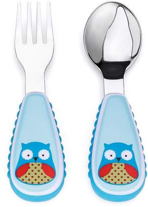 Skip Hop Zootensils Fork and Spoon Owl