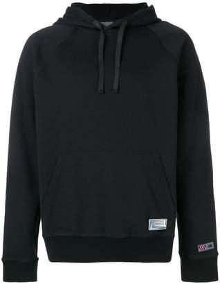 Lanvin logo patch hoodie