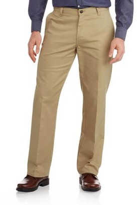 Dickies Genuine Big Men's Relaxed Fit Straight Leg Flat Front Flex Pant