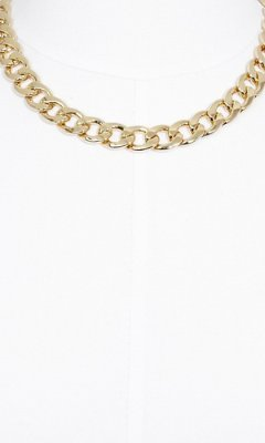 Express Flat Status Link Necklace