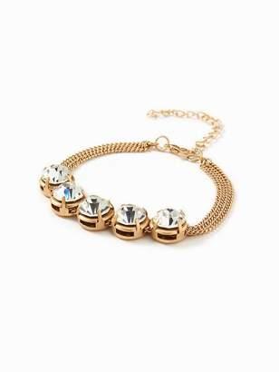 Old Navy Crystal Chain Bracelet for Women