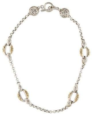 Konstantino Two-Tone Daphne Link Necklace