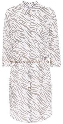 Heidi Klein Zebra printed shirt-dress