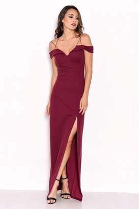 7ad5497148 AX Paris Womens Strappy Maxi Dress - Red