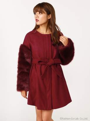 Rienda (リエンダ) - リエンダ Faux Fur SLV CT