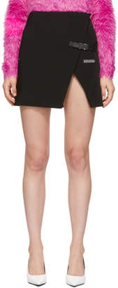 Off-White Off White Black Stretch Wallet Miniskirt