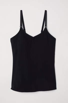H&M MAMA Camisole with Shelf Bra - Black