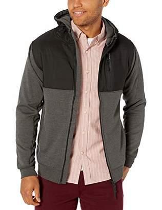 Rip Curl Men's INTERBLOCK Anti SRS Zip UP Hooded Sweatshirt