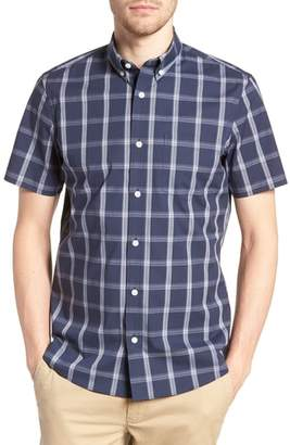 Nordstrom Tech-Smart Slim Fit Plaid Sport Shirt